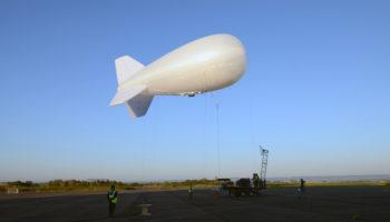 CNIM Air Space ballon captif multi-senseurs