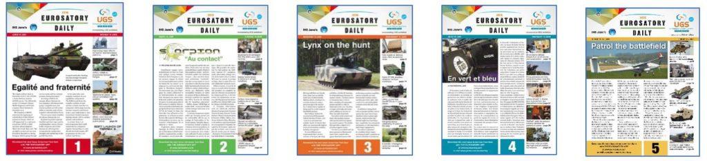EUROSATORY 2016 - Numéros Eurosatory Daily