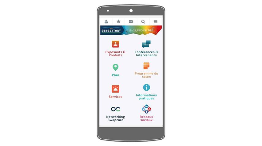 EUROSATORY 2018 - app Mobile FR 844X477