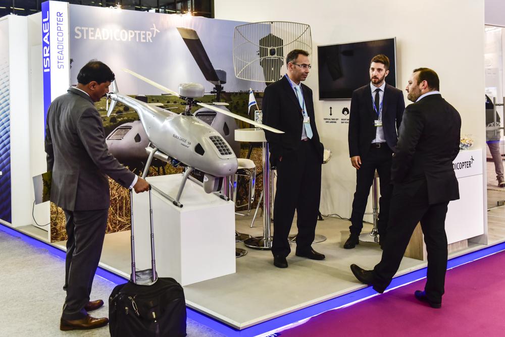 Eurosatory 2018-Israël Steadicopter