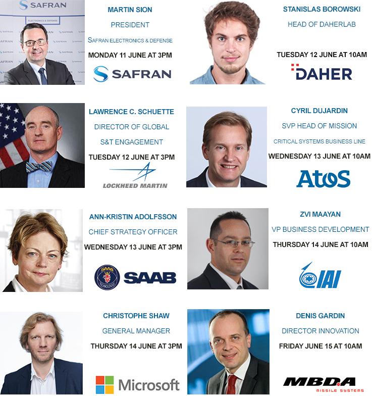 Page Eurosatory Lab - Bandeau Speakers EN