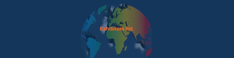 Page d'accueil - Actualité Images exhibitors list 800x400 centre