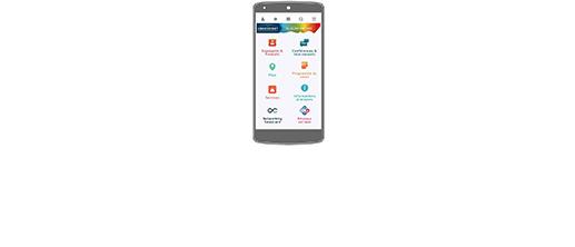 Page d'accueil - Actualité Image App mobile FR