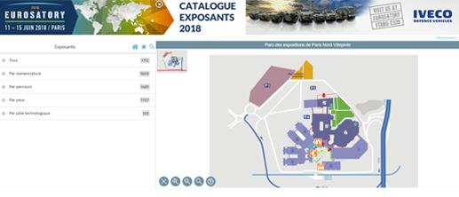Page d'accueil - Actualité Images Catalogue exposants 2018 - 517x222