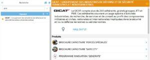 Page d'accueil - Actualité Images Catalogue exposants 2018 fiche